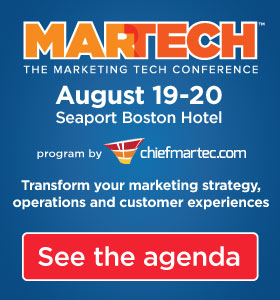 MarTech: The Marketing Tech Conference