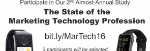 Marketing Technologist Study March 2016