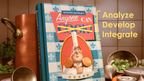 Anyone Can Cook: Citizen Analysts, Citizen Developers, Citizen Integrators